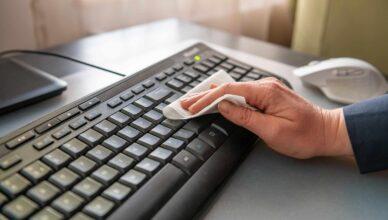 klavye temizleme